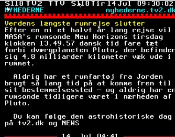 TV2 unøjagtighed
