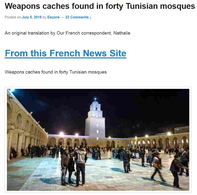 Våbenfund i 40 moskeer