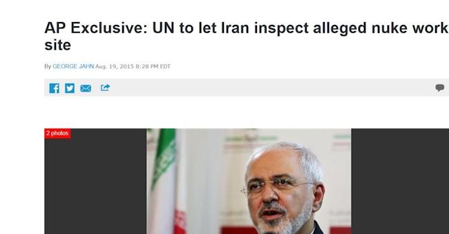 AF Iran skal inspicere sig selv