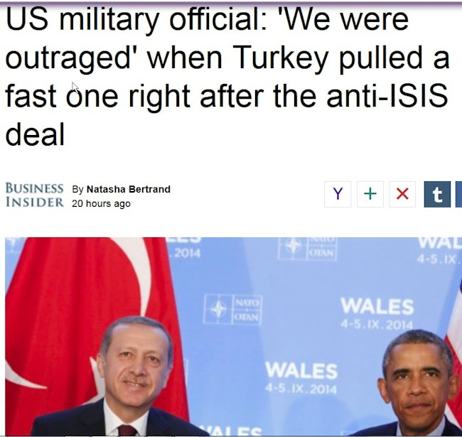 Erdogan narrer Obama