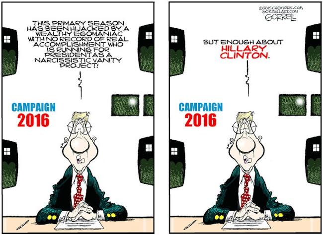 Hillary ironi