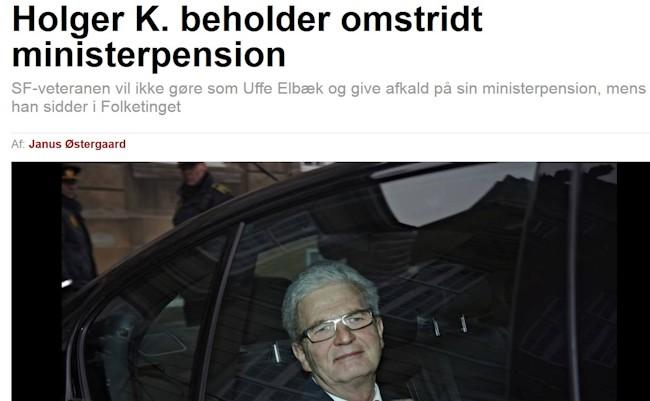 Holger pengeglad
