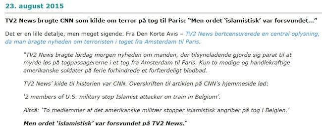 TV2 news filtrerer islamisk ud