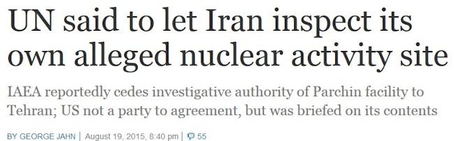 USA kendte aftalen