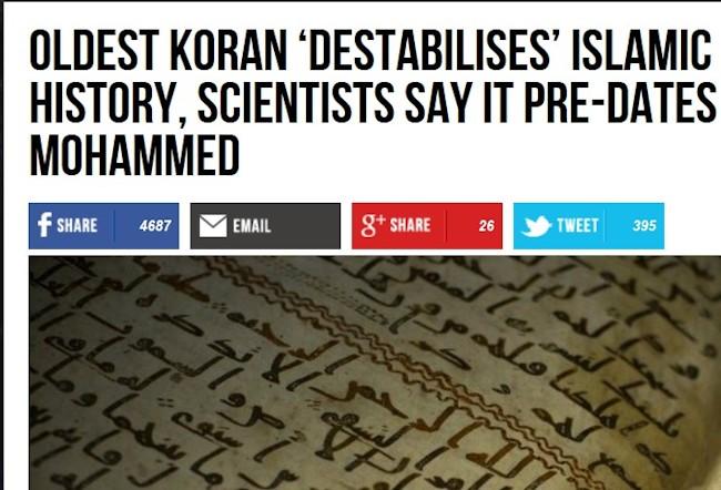 Koran før muhammed