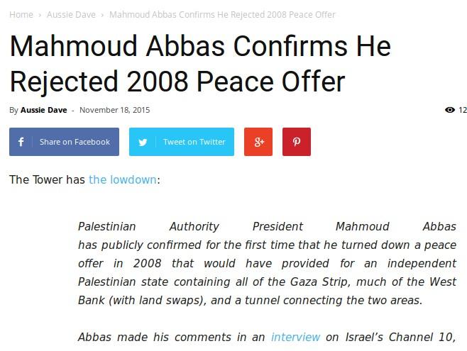 Abbas Nej til stat