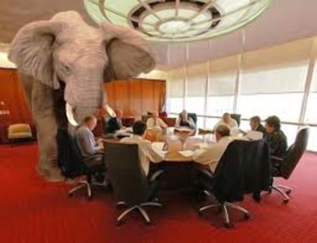 Elefanten i rummet