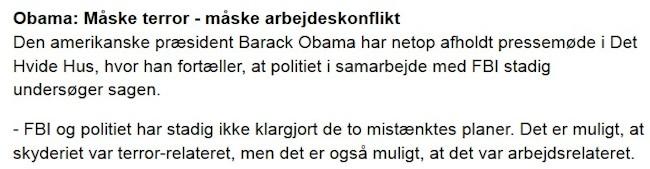 Obama om terror