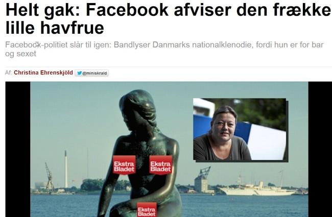 Facebook og havfruen