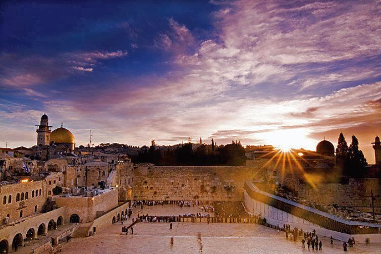 Kotel at sunrise
