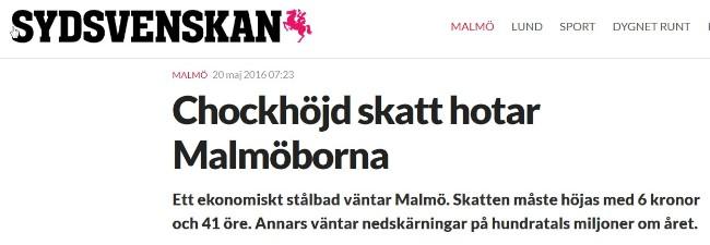 Svensk skattestigning
