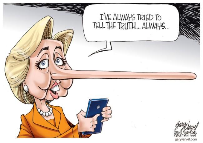 Hillarys nose