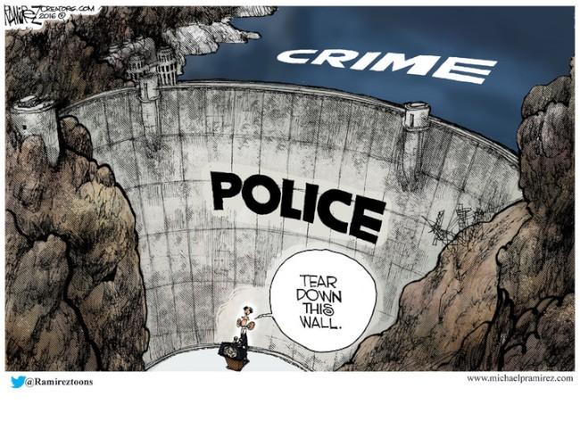 Obæ og politiet