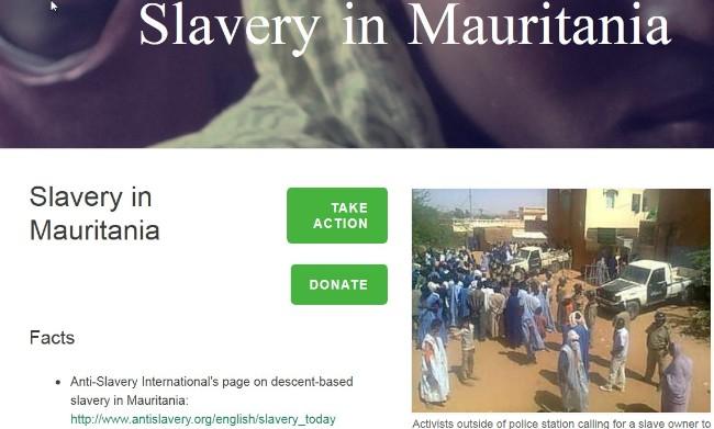 slaveri i mauritanien