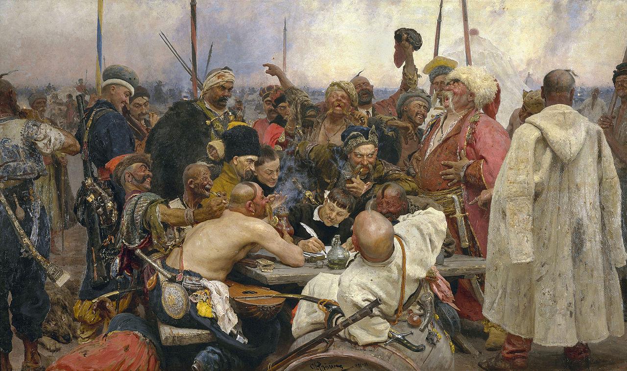ilja_jefimowitsch_repin_-_reply_of_the_zaporozhian_cossacks_-_yorck