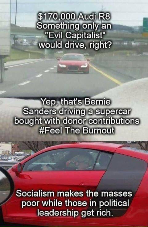 #BankFraudBernie